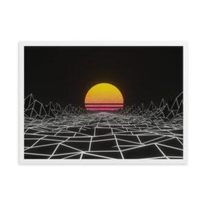 future noir // neon sun poster
