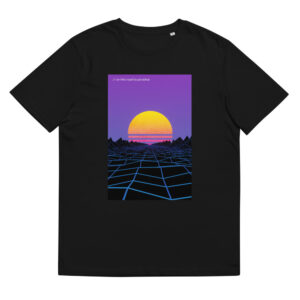 on this road to paradise //  organic cotton t-shirt