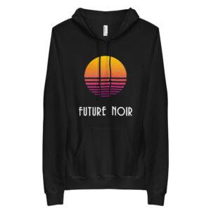 neon sun // unisex fleece hoodie