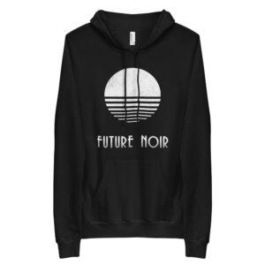 #futurenoir // unisex fleece hoodie